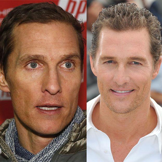 Matthew McConaughey waży 60 kilo!