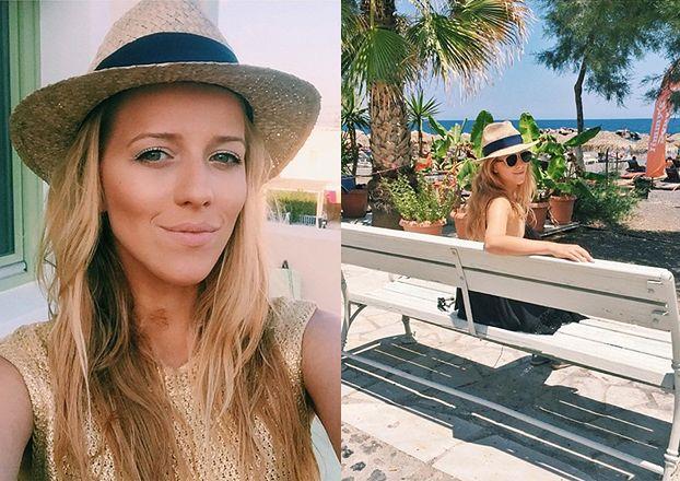 Rajskie wakacje Jessiki Mercedes w Santorini (FOTO)