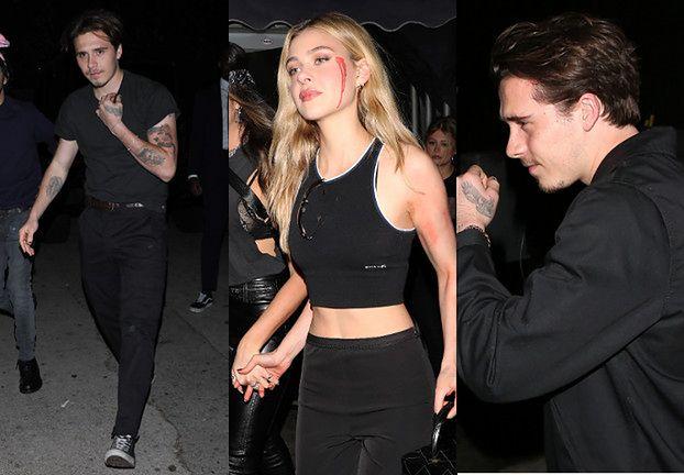 """""""Kochliwy"""" Brooklyn Beckham zmierza na halloweenową imprezę w towarzystwie nowego obiektu westchnień"""