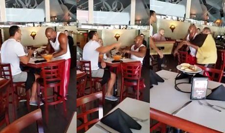 Władimir Kliczko i Shannon Briggs POBILI SIĘ w restauracji!