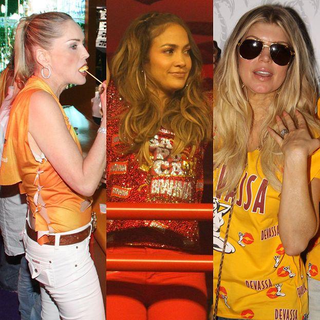 Lopez, Stone i Fergie na karnawale w Brazylii!