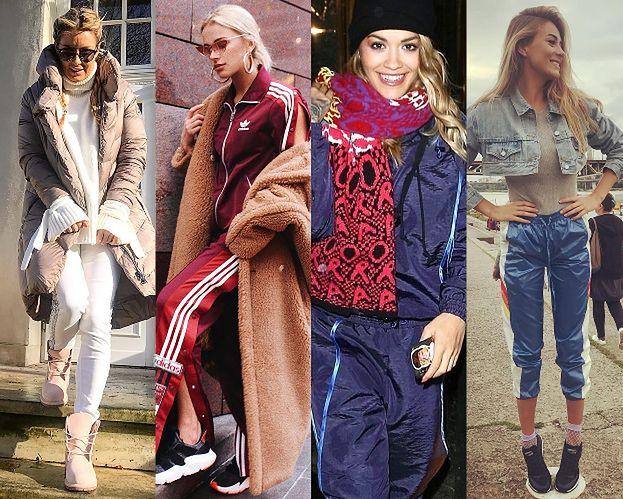 Modne dresy w stylizacjach celebrytek
