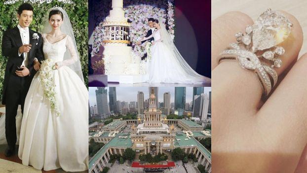 """Tak wyglądał ślub """"CHIŃSKIEJ KIM KARDASHIAN""""... Kosztował 30 milionów dolarów! (ZDJĘCIA)"""