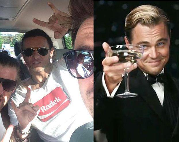 """Majdan: """"PRZYBIŁEM PIĄTKĘ z DiCaprio!"""""""