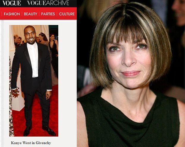 """""""Vogue"""" wyciął Kim ze zdjęcia z Kanye!"""