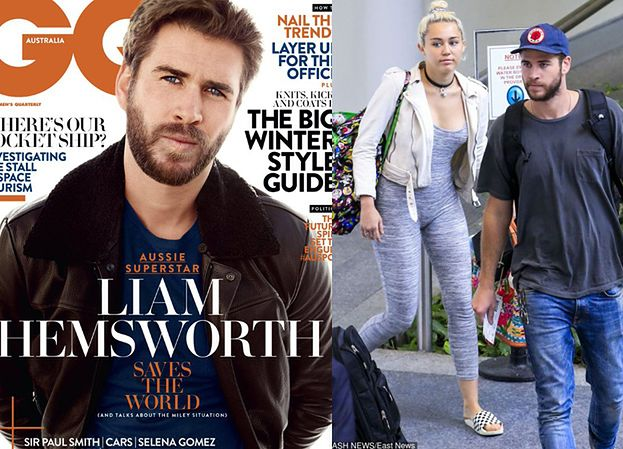 """Liam Hemsworth potwierdza zaręczyny z Miley: """"Prawda wyszła już na jaw"""""""