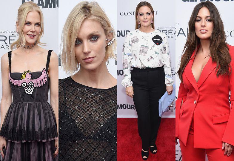 Nicole Kidman, Anja Rubik, Drew Barrymore i Ashley Graham