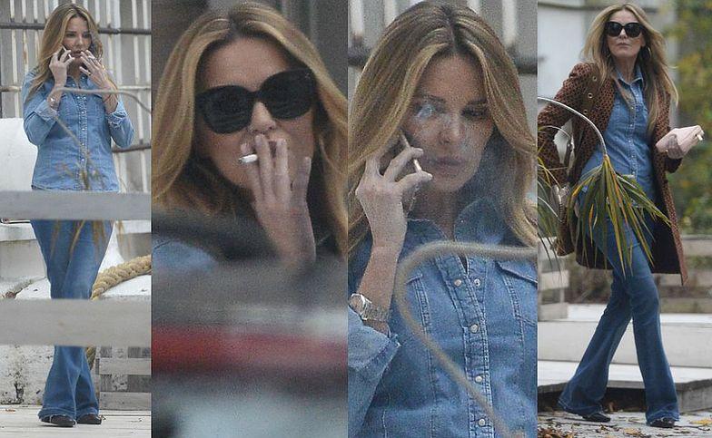 """Hanna Lis """"przyłapana"""" na papierosie"""