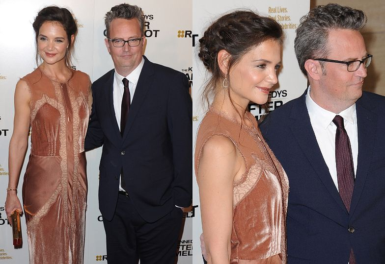 """Katie Holmes i Matthew Perry na premierze """"The Kennedys: After Camelot"""""""