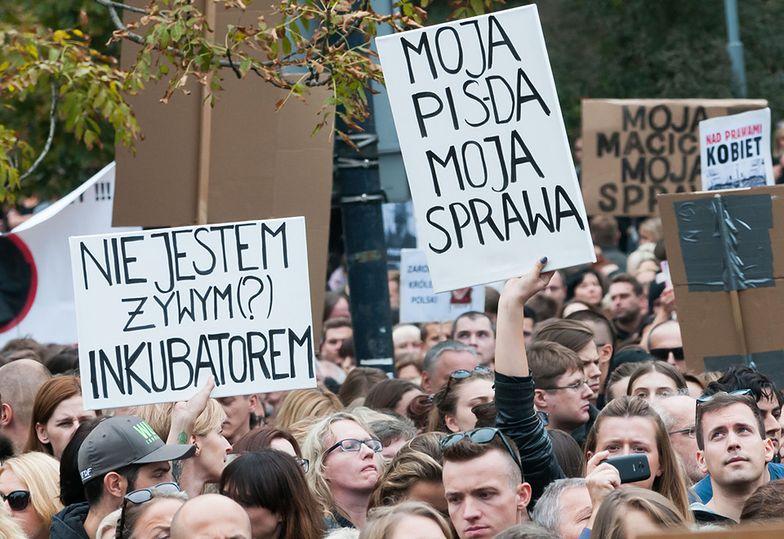 Czarny Protest pod Sejmem