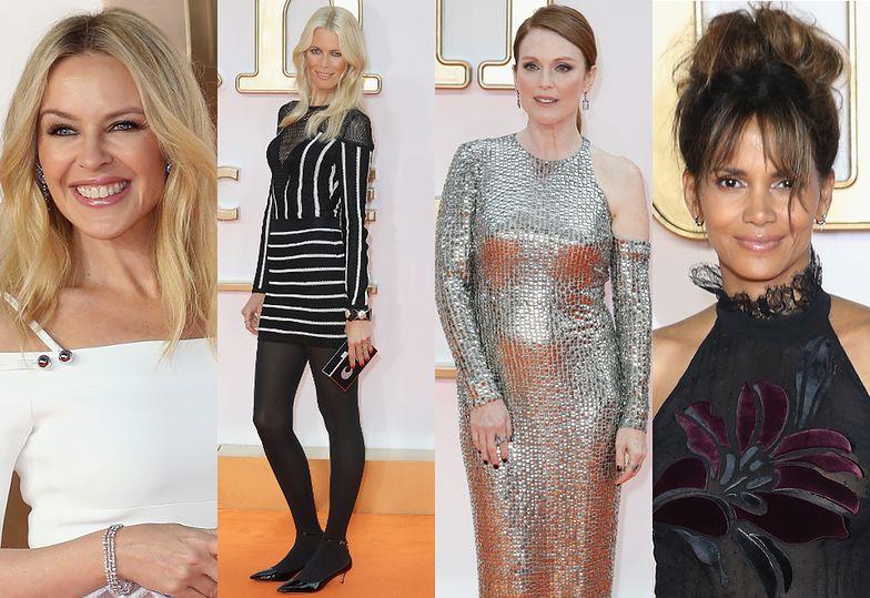 Kylie Minogue, Claudia Schiffer, Julianne Moore i Halle Berry