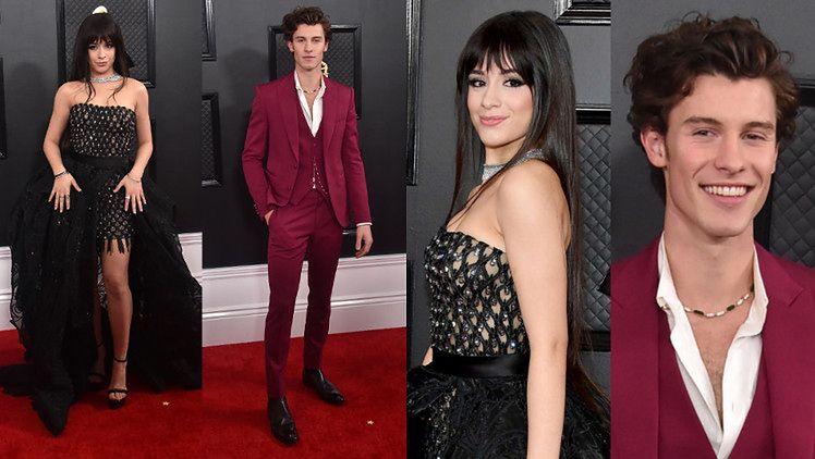 Grammy 2020. Camila Cabello i Shawn Mendes OSOBNO wdzięczą się na ściance. To koniec ich medialnego związku? (FOTO)