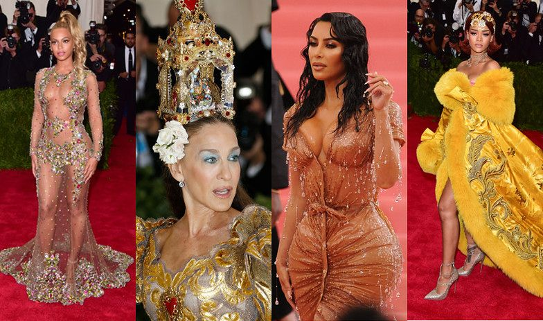 Przypominamy najgłośniejsze kreacje MET Gali ostatnich lat: Rihanna, Beyonce, Kim Kardashian, Sarah Jessica Parker... (ZDJĘCIA)