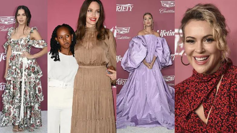 Gala Power of Women: Uśmiechnięta Angelina Jolie z córką, Katy Perry w niesamowitej kreacji i posągowa Lorde (ZDJĘCIA)