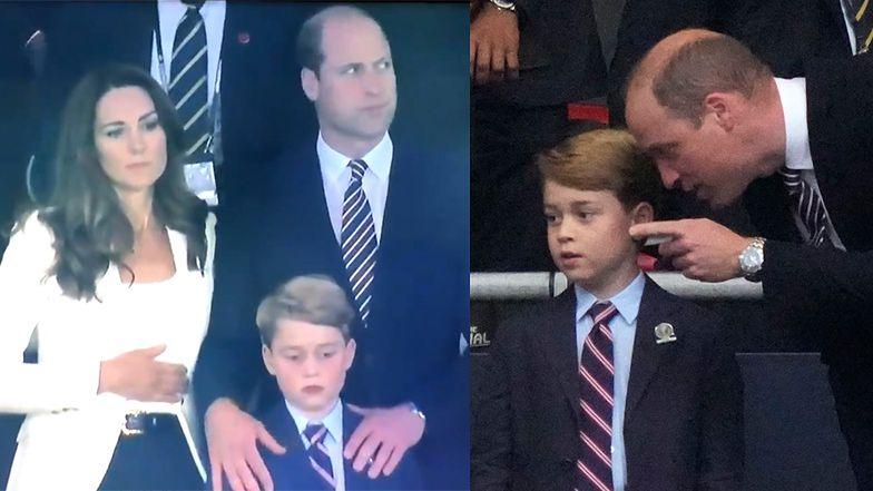 Euro 2020. Siedmioletni książę George ZAŁAMANY porażką Anglików (ZDJĘCIA)