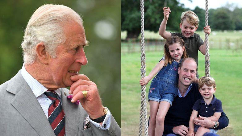 Książę Karol chce dać Charlotte i Louisowi WIĘCEJ WOLNOŚCI, gdy ich brat zostanie królem