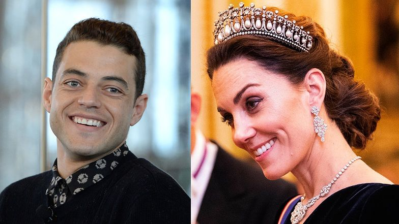 """Rami Malek wspomina pogawędkę z księżną Kate: """"ZBIŁEM JĄ Z TROPU"""""""