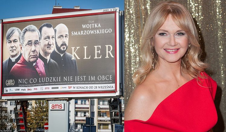 """Grażyna Torbicka komentuje w trakcie wręczania nagrody Smarzowskiemu: """"Tym sposobem w naszym kraju KLER ZNÓW DOMINUJE"""""""