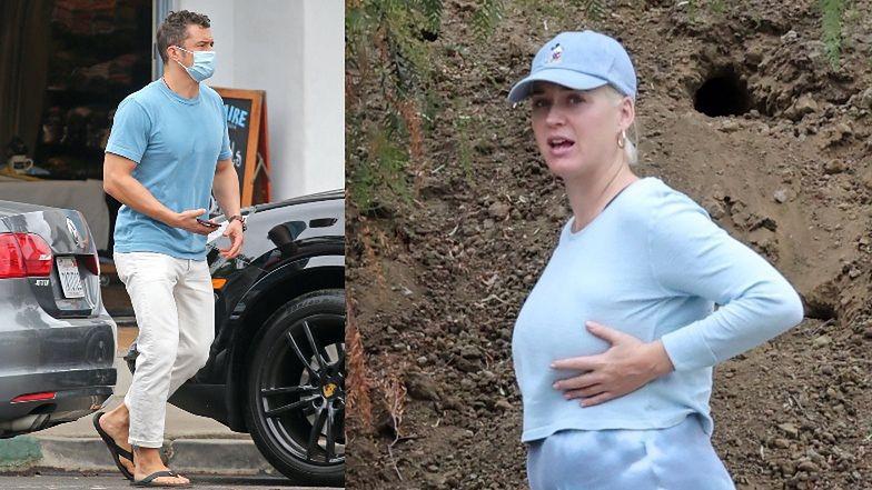 Zrelaksowana Katy Perry świętuje 36. urodziny, spacerując z mężem i pieskiem (ZDJĘCIA)