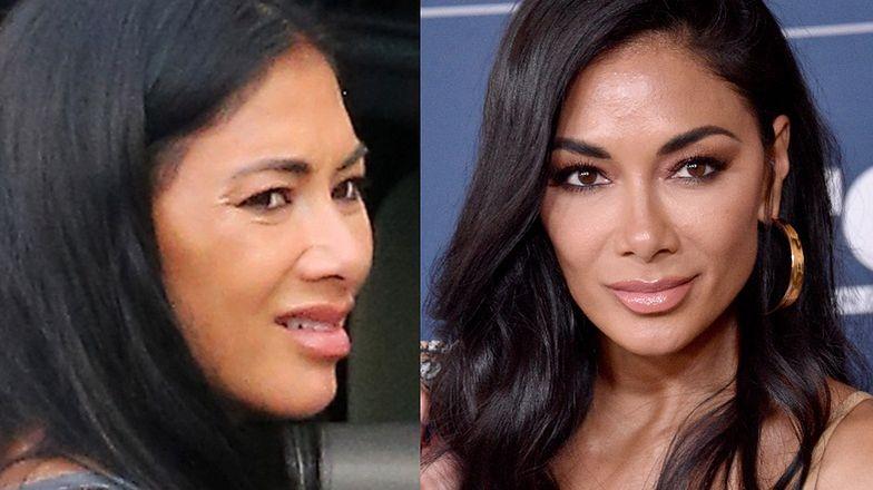 """41-letnia """"naturalna"""" Nicole Scherzinger grzebie w bagażniku luksusowego Range Rovera. Podobna do siebie...? (ZDJĘCIA)"""