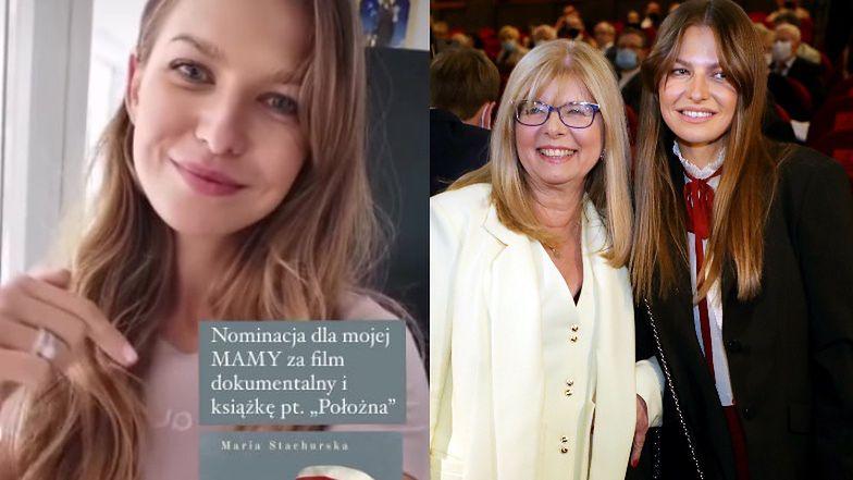 Dumna Anna Lewandowska zachęca do oddawania głosów na jej mamę (FOTO)