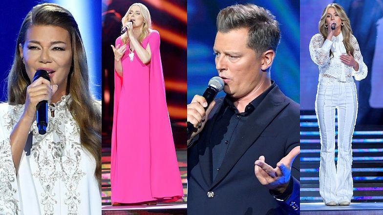 Festiwal Muzyki Chrześcijańskiej: błogosławiąca tłum Edyta Górniak, dojrzała Roksana Węgiel i Halina Mlynkova w różu (ZDJĘCIA)