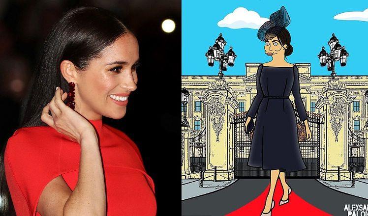 """Meghan Markle wystąpi w """"Simpsonach""""?! Twórca kultowej kreskówki złożył jej propozycję"""