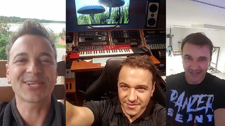 """Taras z widokiem na jezioro, studio nagraniowe i wielka kuchnia. Tak mieszka Radek Liszewski z zespołu """"Weekend""""! (ZDJĘCIA)"""