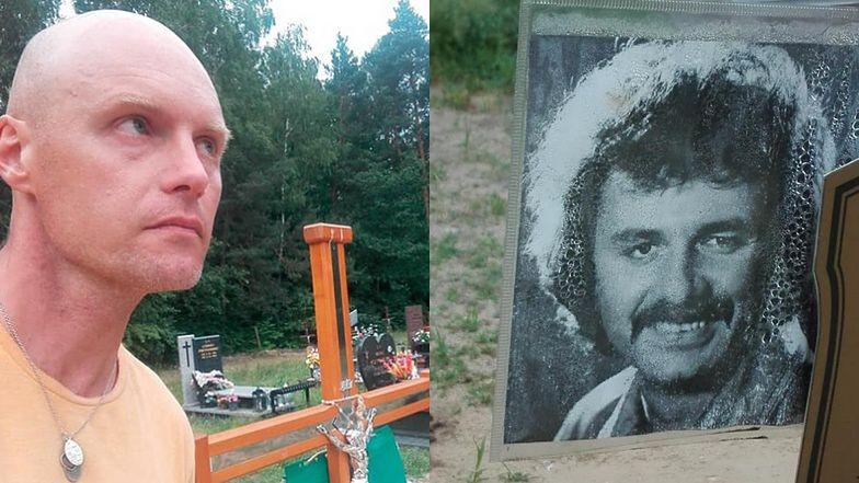 Krzysztof Krawczyk Junior wybrał się na GRÓB OJCA. Wizytę zrelacjonował w sieci