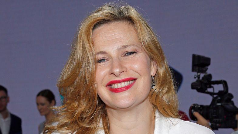 """Dawno niewidziana Agnieszka Warchulska bryluje na premierze """"The End"""" u boku Przemysława Sadowskiego (ZDJĘCIA)"""