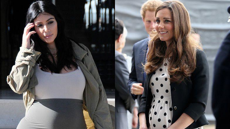 """Kim Kardashian PŁAKAŁA przez porównania do księżnej Kate! """"To ZABIŁO MOJĄ SAMOOCENĘ"""""""