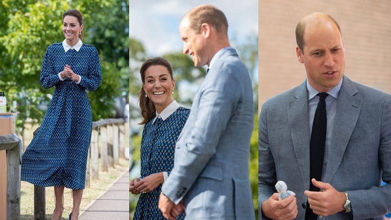 Rozweseleni książę William i Kate Middleton odwiedzają szpital w Norfolk z okazji 72. urodzin brytyjskiej służby zdrowia (ZDJĘCIA)