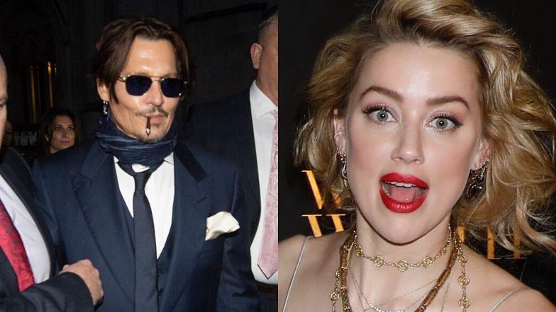"""Johnny Depp przysięgał """"UTOPIĆ I SPALIĆ"""" Amber Heard? W sądzie ujawniono szokującą treść SMS-ów aktora"""