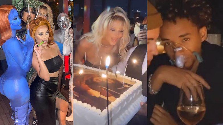 """Kendall Jenner wyprawiła OGROMNĄ imprezę w środku pandemii. Jaden Smith przyszedł z własnym """"respiratorem"""" (ZDJĘCIA)"""