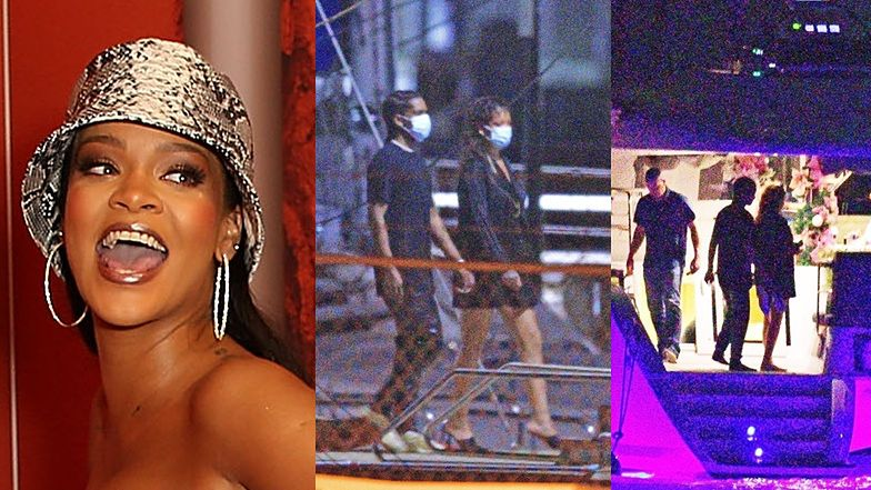 Zakochani Rihanna i ASAP Rocky przyłapani na Barbadosie (ZDJĘCIA)
