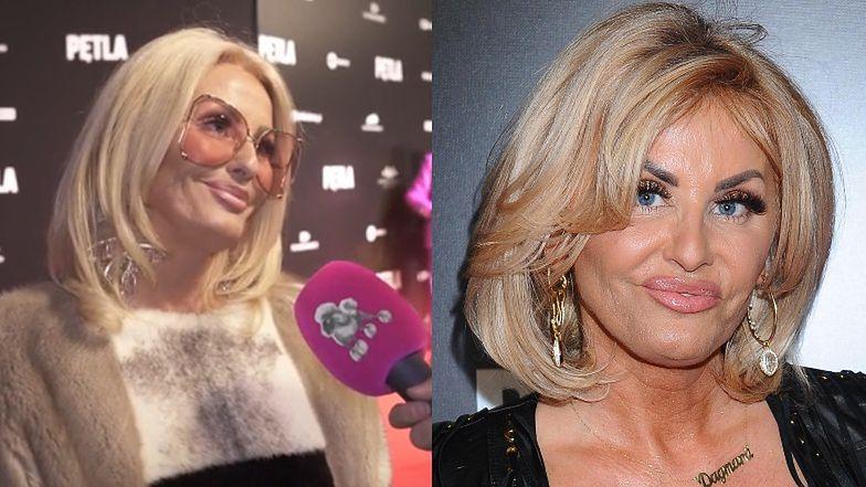 Zdystansowana Dagmara Kaźmierska zaprzecza, że grając sutenerkę w filmie Vegi, grała samą siebie (WIDEO)
