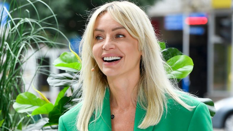 Agnieszka Woźniak-Starak jako Sharon Tate zaliczyła WPADKĘ na imprezie u Joanny Przetakiewicz (FOTO)