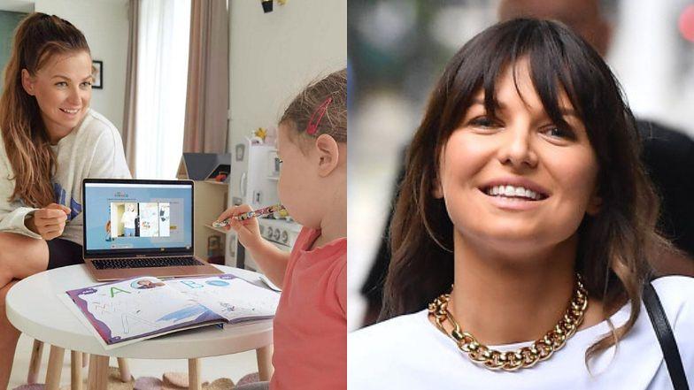 Dumna Anna Lewandowska chwali się, że wychowuje Klarę na poliglotkę i zalicza KOLEJNĄ WPADKĘ (FOTO)