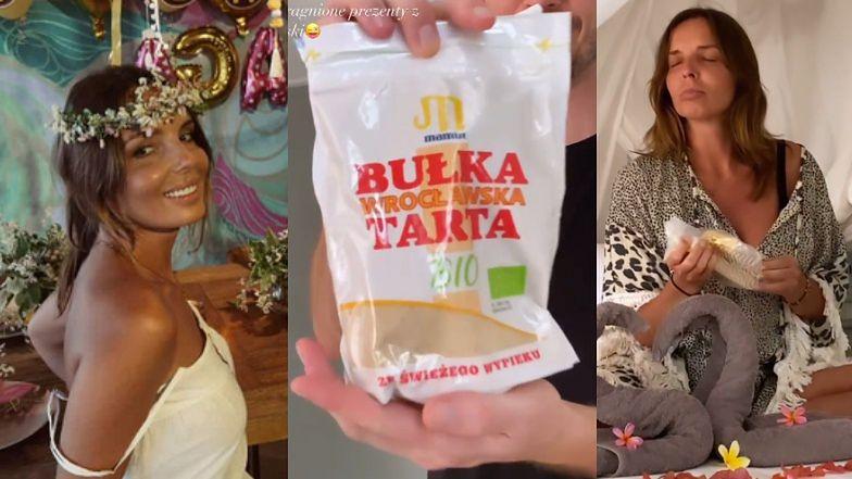 """Agnieszka Włodarczyk chwali się przyjęciem urodzinowym na Gili i zachwyca prezentami z Polski: """"BUŁKA TARTA!"""""""