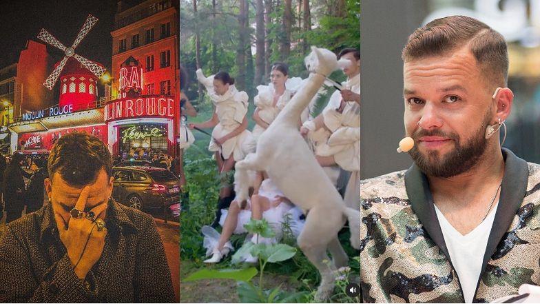 """Michał Piróg nie widzi problemu w użyciu alpak w """"Top Model"""". Ten sam Michał Piróg rok wcześniej o zwierzętach w Moulin Rouge: """"WSTYD I HAŃBA"""""""