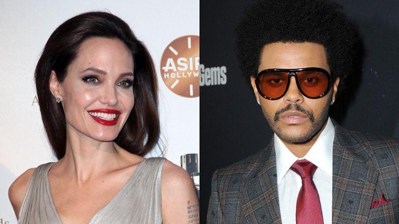 Angelina Jolie i The Weeknd ZNÓW przyłapani na randce! (ZDJĘCIA)