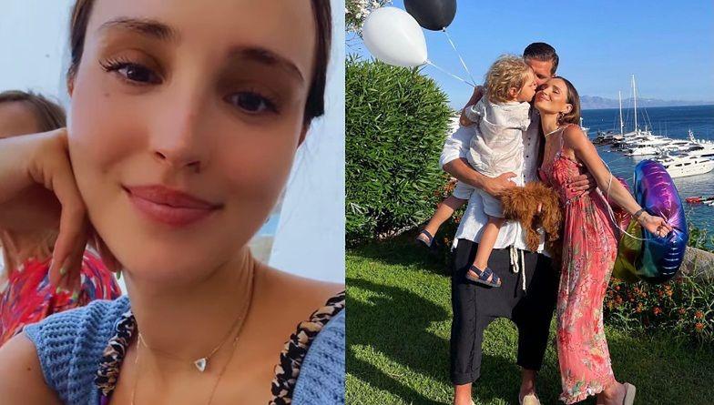 Marina Łuczenko i Wojciech Szczęsny świętują 3 urodziny Liama na GRECKICH WAKACJACH (ZDJĘCIA)