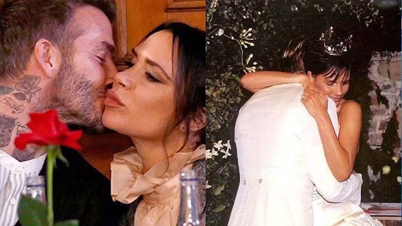 """David Beckham wspomina, jak zakochał się w żonie: """"Zobaczyłem w telewizji Spice Girls i pomyślałem, że podoba mi się ta w kombinezonie"""""""