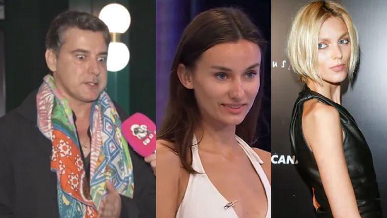"""Marcin Tyszka broni """"oszpecenia"""" Olgi: """"Anja Rubik wskoczyła na NAJWYŻSZY POZIOM po skróceniu włosów"""""""