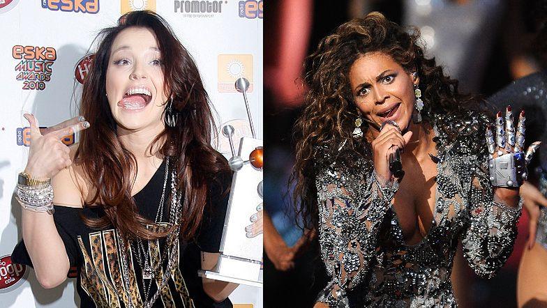 """Sukces Mariny Łuczenko: Beyonce """"SKOPIOWAŁA"""" jej fryzurę sprzed roku (FOTO)"""