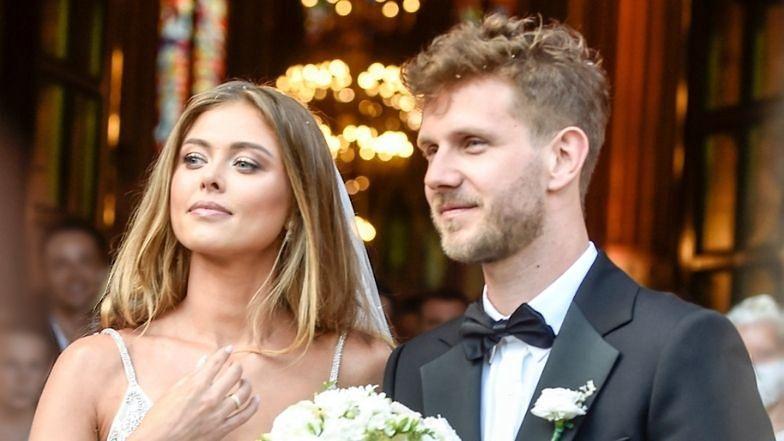 """Joanna Opozda zapewnia: """"Wzięliśmy ślub Z MIŁOŚCI, A NIE Z PRZYMUSU"""""""
