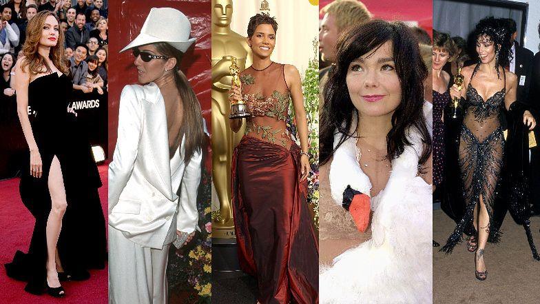 Oscary 2021: Zobaczcie jedne z najbardziej IKONICZNYCH kreacji, które przewinęły się na przestrzeni lat przez czerwony dywan (ZDJĘCIA)