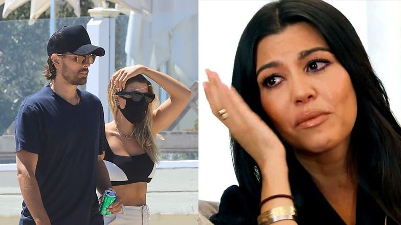 Sofia Richie i Scott Disick już do siebie WRÓCILI?! Spacerowali razem po plaży w Malibu... (ZDJĘCIA)