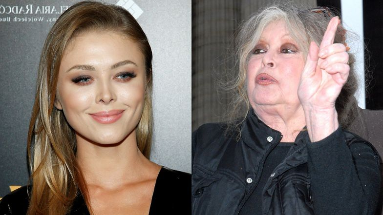 """Dumna jak paw Joanna Opozda chwali się aprobatą ze strony Brigitte Bardot: """"Tak, TA DZIEWCZYNA może mnie zagrać"""""""