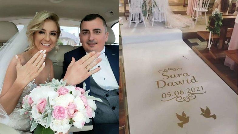 """Sara z """"Rolnik szuka żony"""" wzięła ślub!"""